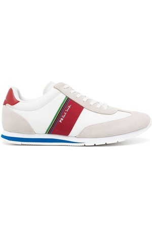 Paul Smith Logo-print lace-up trainers - Multicolour