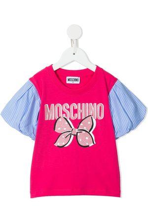 Moschino Logo-print short-sleeve cotton T-shirt
