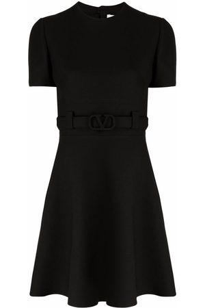 VALENTINO VLogo Signature belted dress