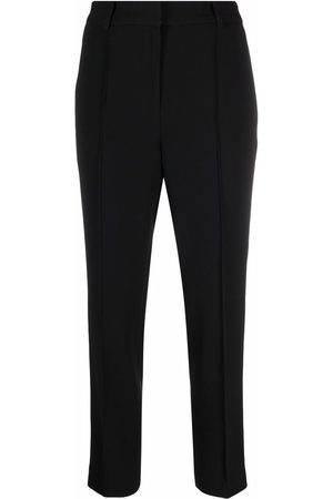 Michael Kors Pleated cropped trousers