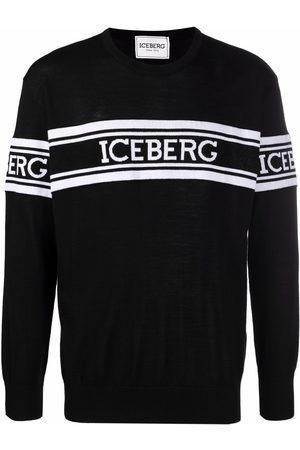 Iceberg Logo embroidered jumper