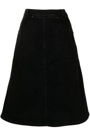 Kenzo Women Denim Skirts - A-Line denim skirt