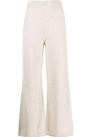 Joseph Women Wide Leg Pants - Tweed wide-leg trousers - Neutrals