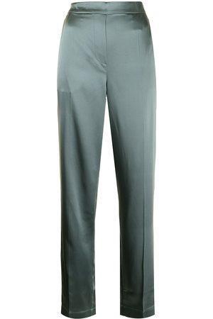 Joseph Women Straight Leg Pants - Tova straight-leg silk trousers