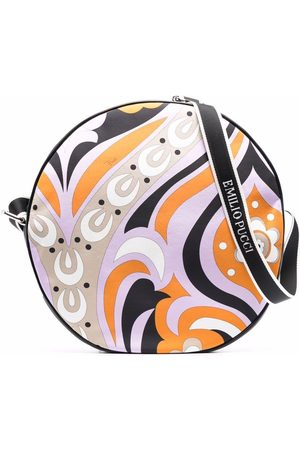 Emilio Pucci Floral-print zip-up shoulder bag