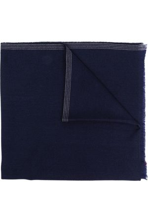 FAY Fringed wool-cashmere scarf