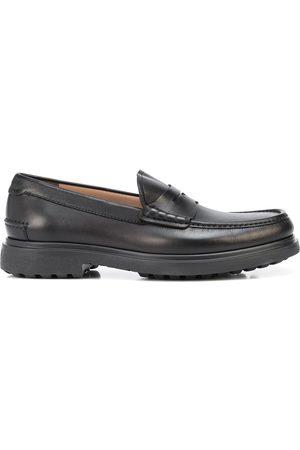 Salvatore Ferragamo Leather penny loafers