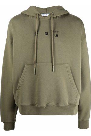 OFF-WHITE Arrows logo-print hoodie