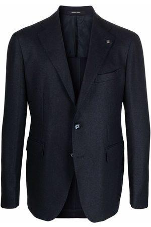 TAGLIATORE Slim-cut single-breasted blazer