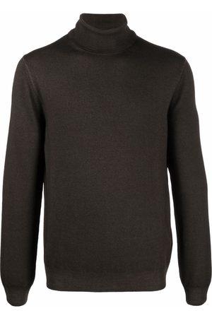 Boglioli Roll-neck virgin wool jumper