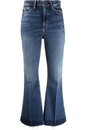 Polo Ralph Lauren Women High Waisted - High-waist flared jeans