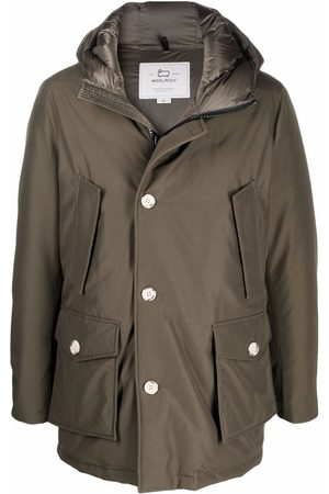 Woolrich Men Parkas - Hooded padded coat
