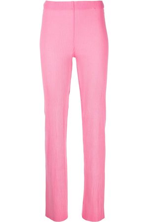Cotton Citizen Ribbed straight-leg trousers