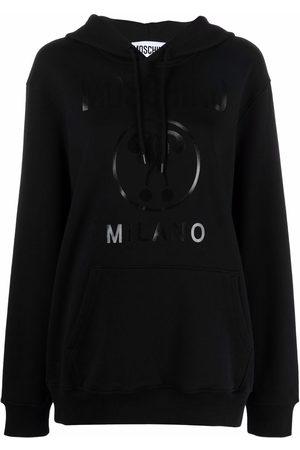 Moschino Logo-print drawstring hoodie