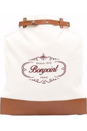 BONPOINT Girls Bags - Logo-print bag - Neutrals