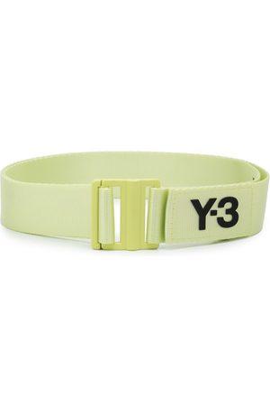 Y-3 Belts - Logo-plaque buckled belt