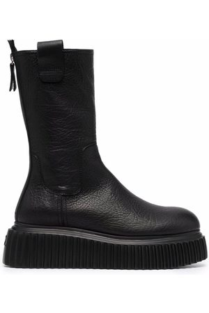 AGL ATTILIO GIUSTI LEOMBRUNI Women Heeled Boots - Milagros platform boots