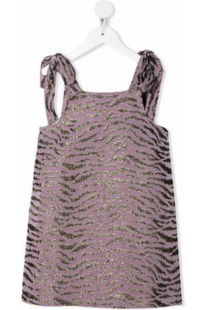 PAADE Zebra-print shift dress