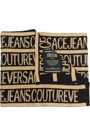VERSACE All-over logo scarf