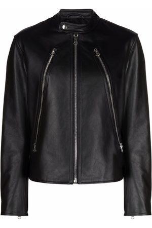 MM6 MAISON MARGIELA Zipped leather jacket