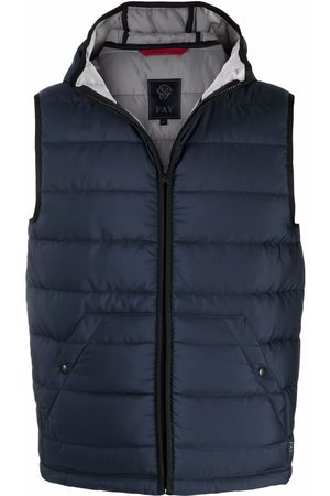 FAY Padded hooded gilet