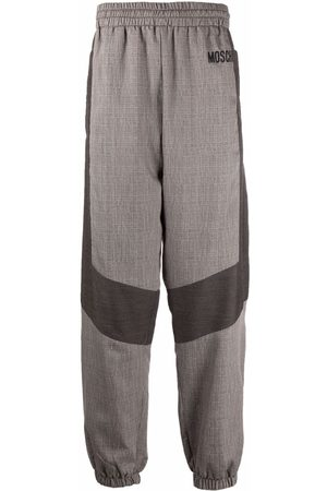 Moschino Panelled cuffed trousers - Neutrals