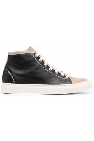 SOFIE D'HOORE Colour-block leather baseball boots