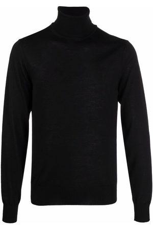 Emporio Armani Men Turtlenecks - Roll neck knitted jumper