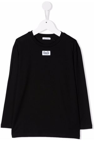 Dolce & Gabbana Logo-patch long-sleeve T-shirt
