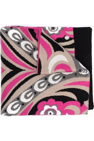 Emilio Pucci Girls Bathrobes - Abstract-floral cotton-blend towel