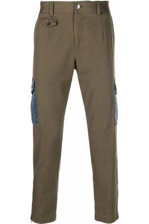 Dolce & Gabbana Denim-pocket straight trousers