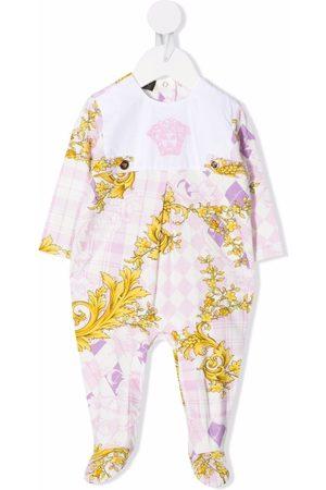 VERSACE Medusa-embroidered pajamas