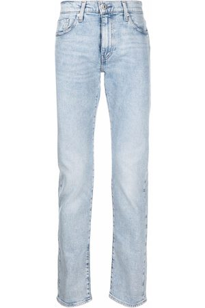 Levi's Light wash straight-leg jeans