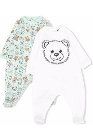 Moschino Bodysuits & All-In-Ones - Teddy bear-motif babygrow set
