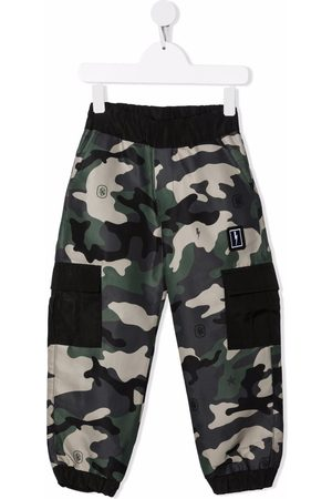 Neil Barrett Camouflage-print track pants