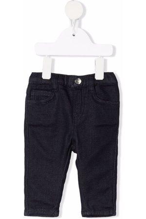 Emporio Armani Elasticated-waist jeans