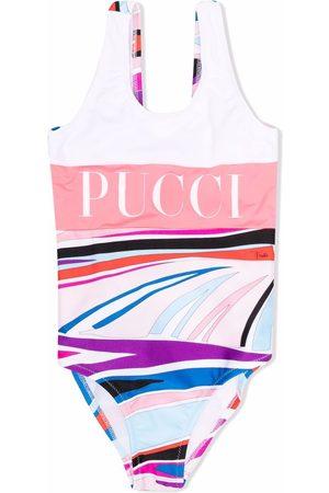 Emilio Pucci Logo-print swimsuit