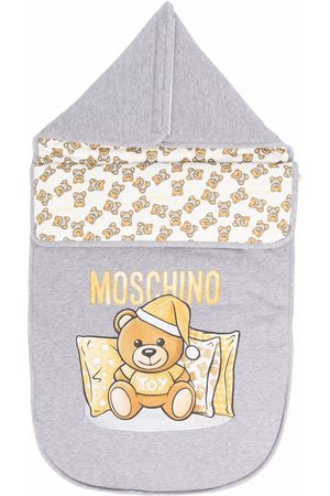 Moschino Teddy Bear logo nest - Grey