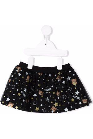 Moschino Girls Printed Skirts - Teddy bear print tutu