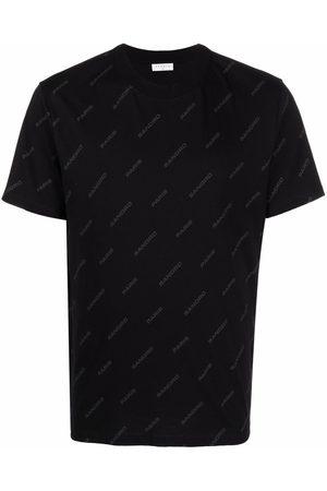 Sandro Men Short Sleeve - Logo-print short-sleeved T-shirt