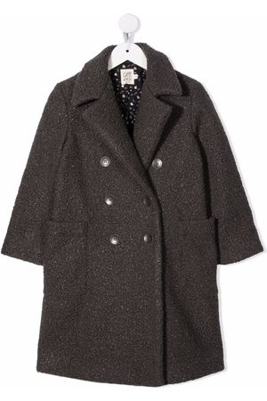 Caffe' D'orzo Gioia double-breasted coat - Grey
