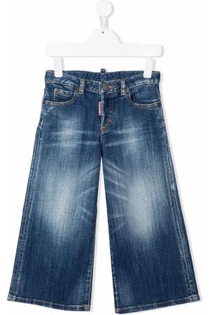 Dsquared2 Mid-rise wide-leg jeans
