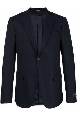 Z Zegna Tailored single-breasted blazer