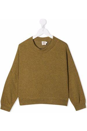Caffe' D'orzo Girls Hoodies - Brunella glittered sweatshirt