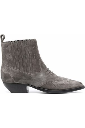ROSEANNA Suede ankle boots - Grey
