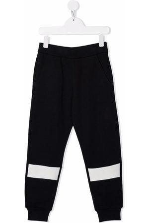 Moncler Contrasting stripe track pants