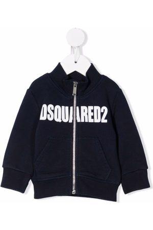 Dsquared2 Logo-print zip-up jacket