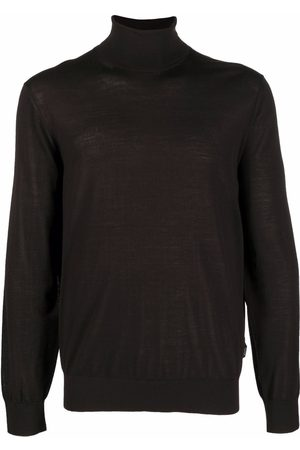 Z Zegna Men Turtlenecks - Rollneck knitted sweater