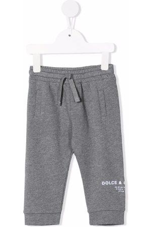 Dolce & Gabbana Sports Pants - Logo tracksuit bottoms - Grey