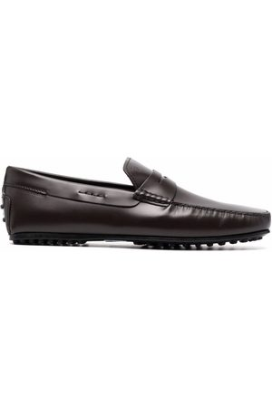 Tod's Leather slip-on loafers
